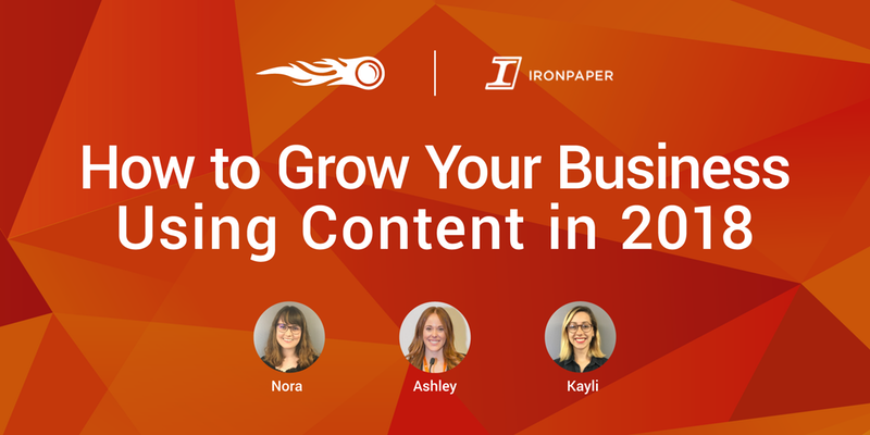 How to Grow Your Business Using Content in 2018