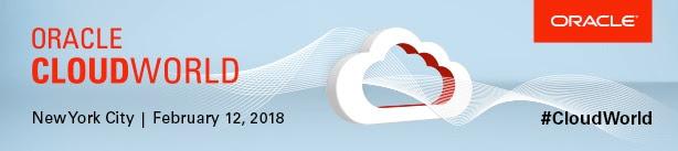Oracle CloudWorld 2018