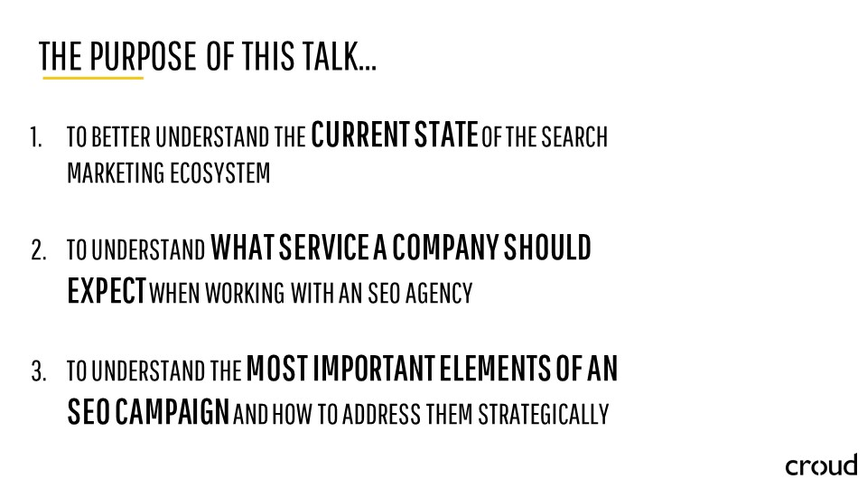 Search Marketing through the Lens of SEO 009