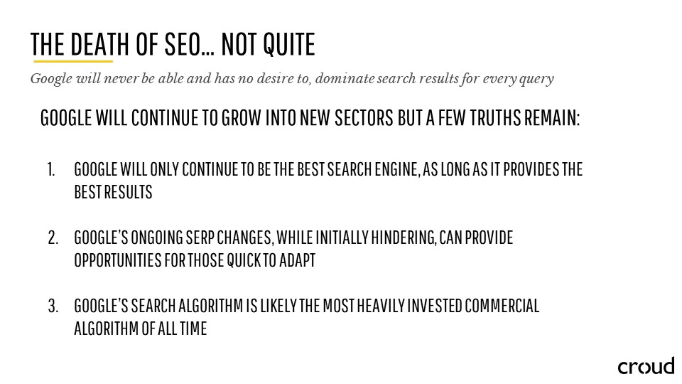 Search Marketing through the Lens of SEO 035