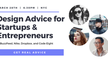 Design Advice for Startups & Entrepreneurs