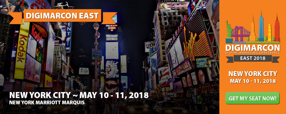 DigiMarCon East 2018 - Digital Marketing Conference