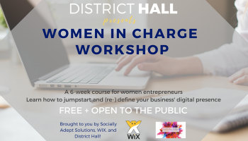 Women In Charge Workshop with Wix