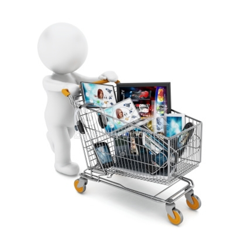 Buying and selling electronics online