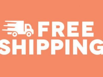 Offering customers free shipping