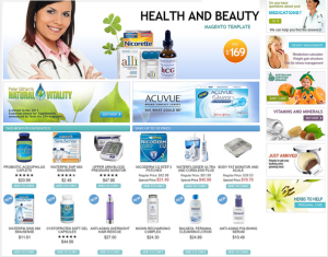 E-commerce role in the health sector