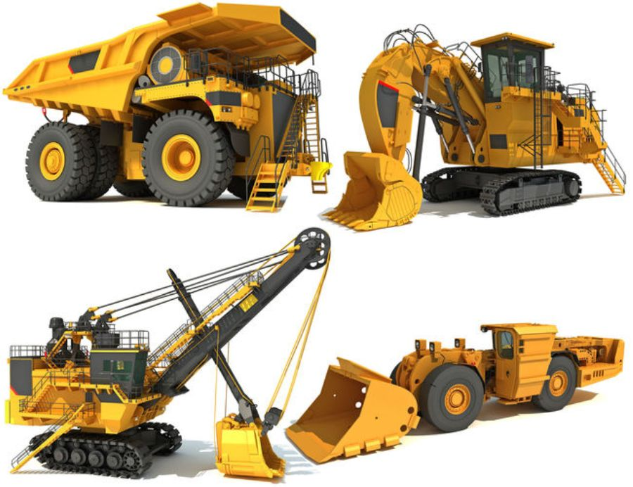 Selling and buying machinery online