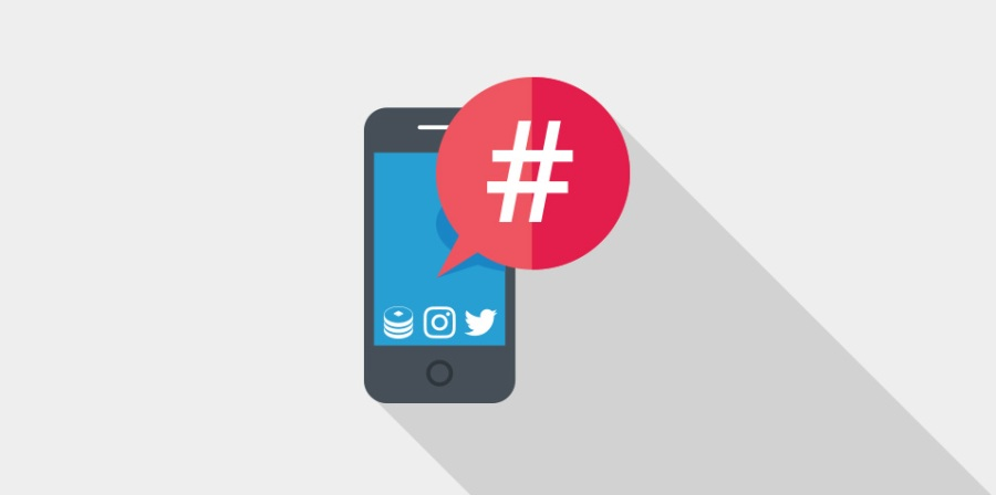 Using hashtags for marketing