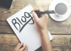 Blogging marketing campaign