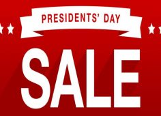 Presidents day to receive record sales