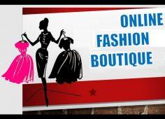 Start an online boutique