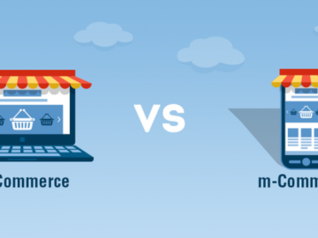 The difference between E-commerce and Mobile Commerce