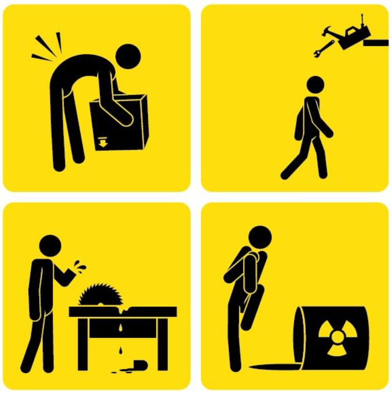 Prevent injuries at the work place