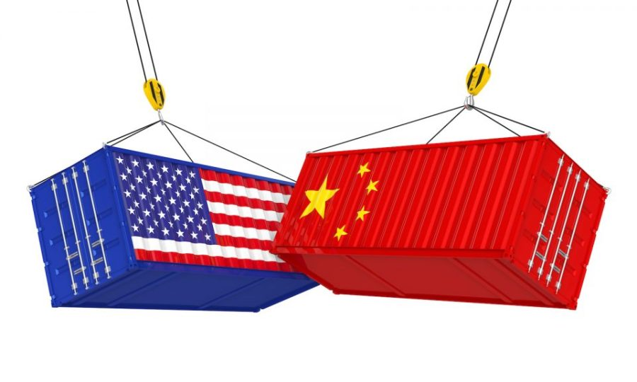 Trade war and e-commerce businesses