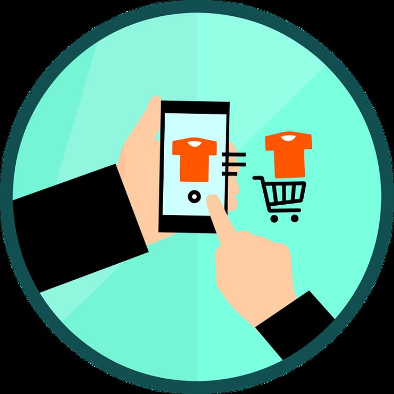 Mobile phones in e-comerce